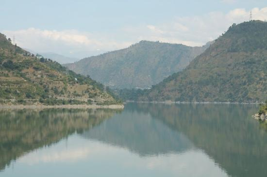 Dalhousie, India: Chamera Lake