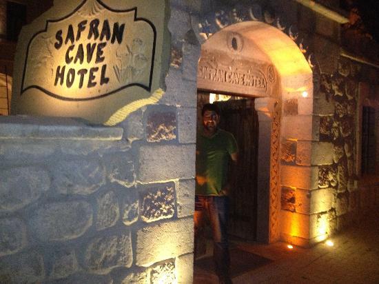 Safran Cave Hotel: Cennet kapısı sanki