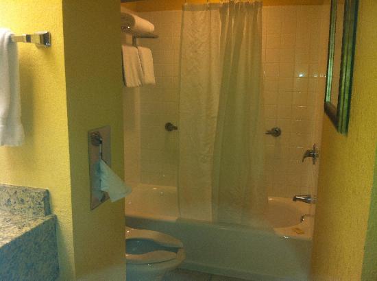 Allure Resort International Drive Orlando: Baño muy amplio 