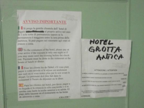 Grotta Antica Hotel: ;-)