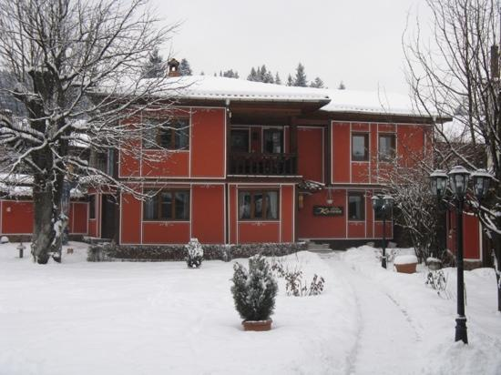 Hotel Kalina: winter view