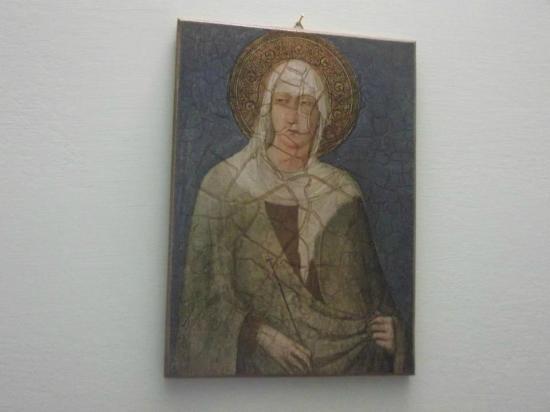 """Grotta Antica Hotel: Capoletto con """"Chiara d'Assisi"""""""