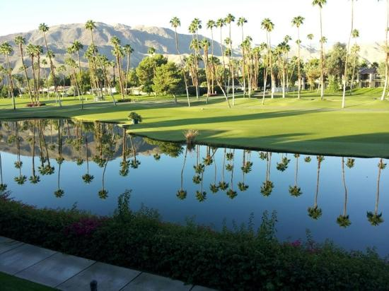 Rancho Mirage, CA: view from room in building 28.