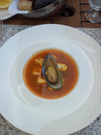 Finz: Soupe de crustacés