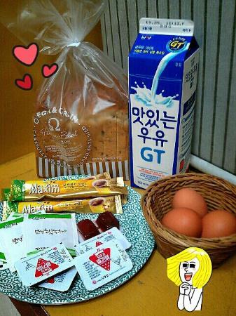 Uno Guest House: 早餐!!!!!(超級棒啊...整個很懷疑老闆會不敷成本)