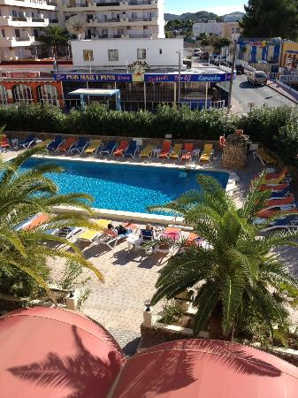 Bahia de San Antonio Apartments: View from front door/balcony