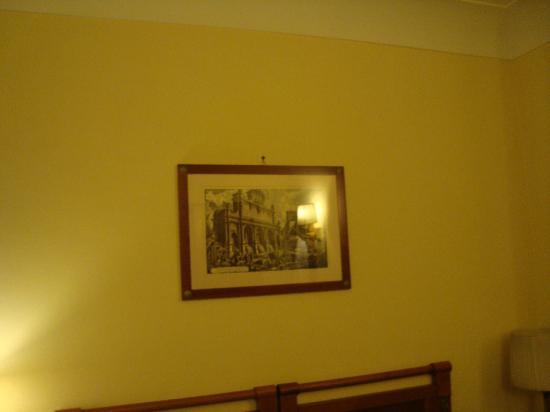 Hotel delle Province: Decoração Suíte