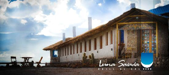 Hotel de Sal Luna Salada: Entrada Al Lobby