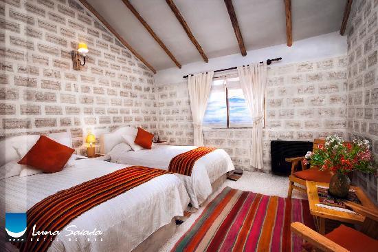 Hotel de Sal Luna Salada: Habitación de sal