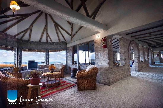 Hotel de Sal Luna Salada: Pasillos