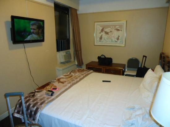 Hotel Carter: la chambre