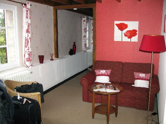 n.21 - 14 ott '12, the Coquelicot room at La Grange Aux Ayres, Olloix