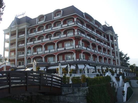 Hotel Splendid: View from the outside terrace