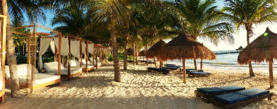 Desire Riviera Maya Pearl Resort Beach Early Morning