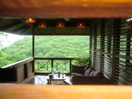 Anse Chastanet: Room balcony