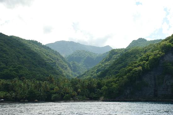 Anse Chastanet: Heading out on a whale watching boat
