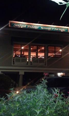 Seafood Peddler: Outside View