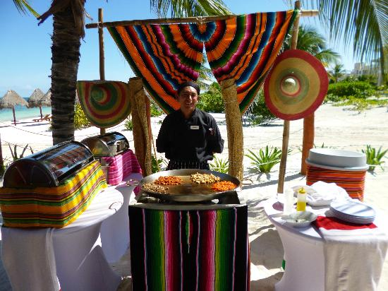 Beloved Playa Mujeres: Mexican lunch