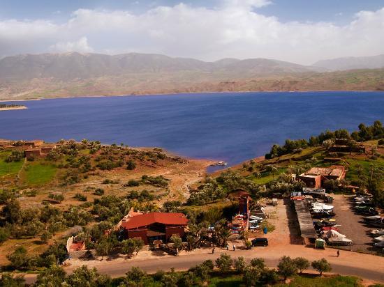 Hotel Bin el Ouidane : Lac/Lake Bin el Ouidane