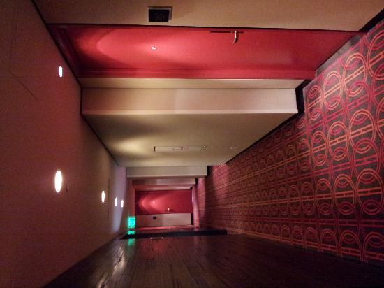 Hyatt Regency Atlanta: Hallway outside our room in the International Tower.