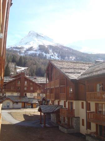 Les Alpages de Val Cenis: View from the apartment window