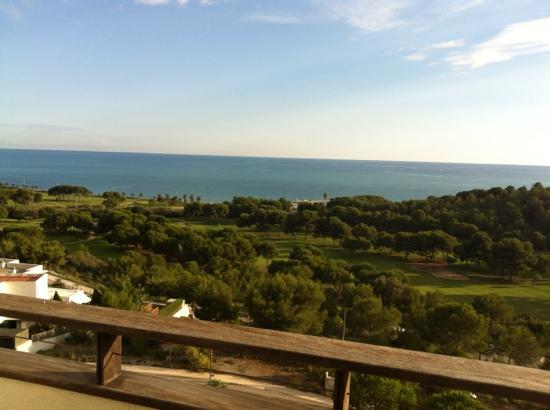 Dolce Sitges : view from the room