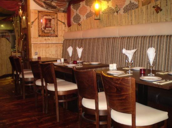 bamboo grill: Cosy