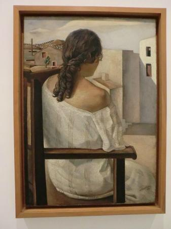 Musée Reina Sofía : Salvador Dali - Girl from the back - 1925