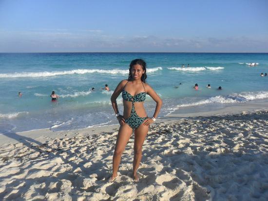 Playa Delfines : hermosa playa