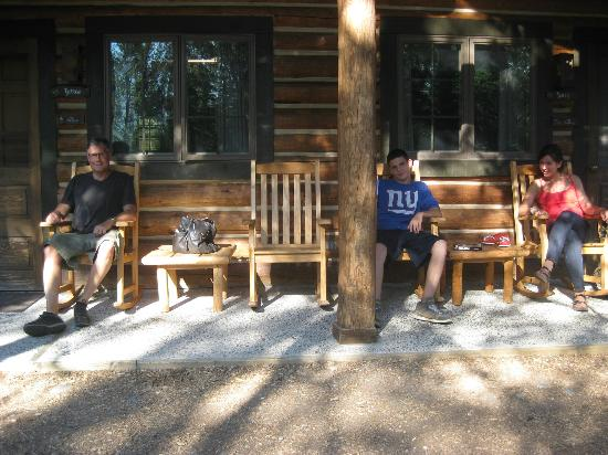 Jenny Lake Lodge: Our adjacent cabins