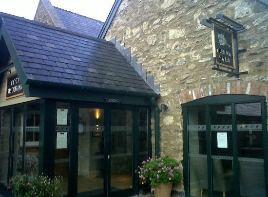 Bodnant Welsh Food Hayloft Restaurant: Hayloft Entrance