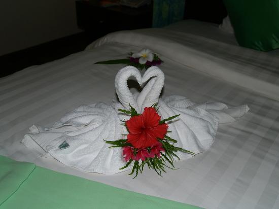 Aonang Phu Petra Resort, Krabi: Detalle llegada
