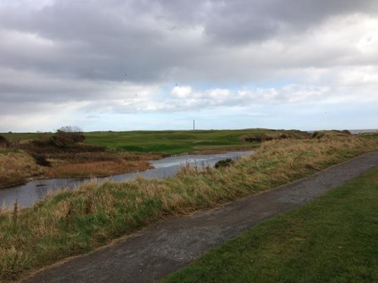 Seahouses, UK: hole 10