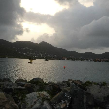 My Little Guest House, SXM: Views on my morning run/jog.