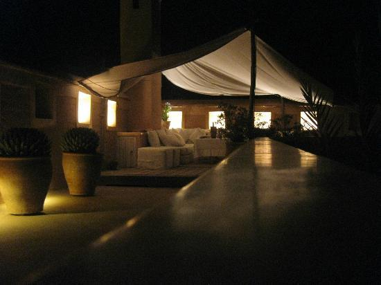 Dar Housnia: Terrace Tents at Night