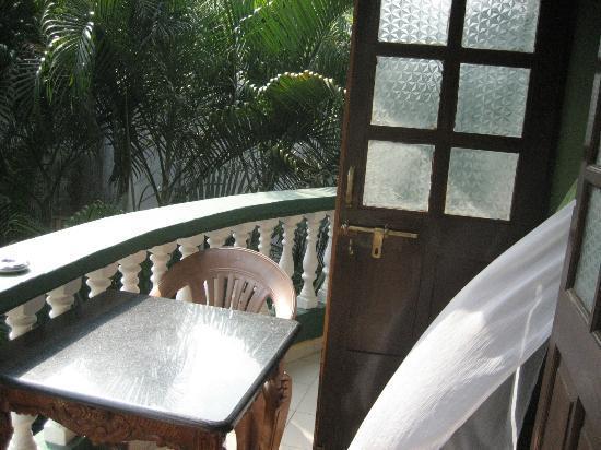 Hotel Villa Theresa: balkony