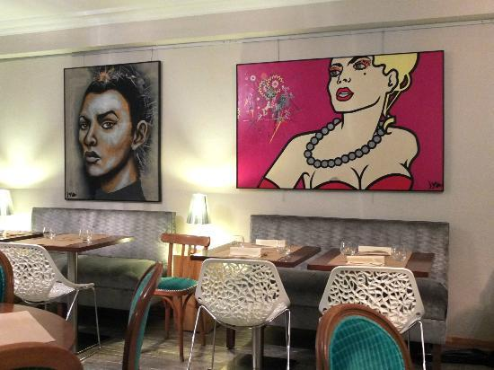 Suzette : Pop painting at 2nd floor