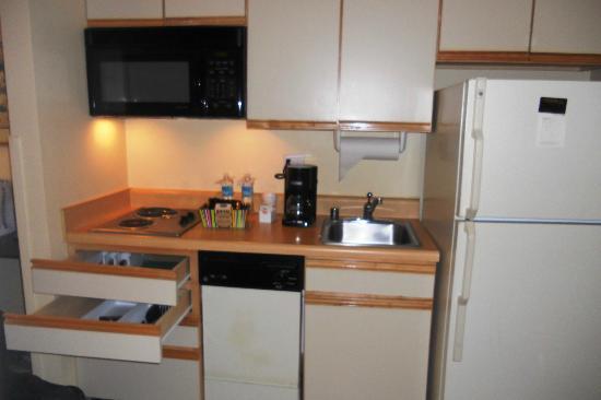 لاركسبور لاندينج بلفيو - آن أول - سويت هوتل: Executive Room-Kitchen area