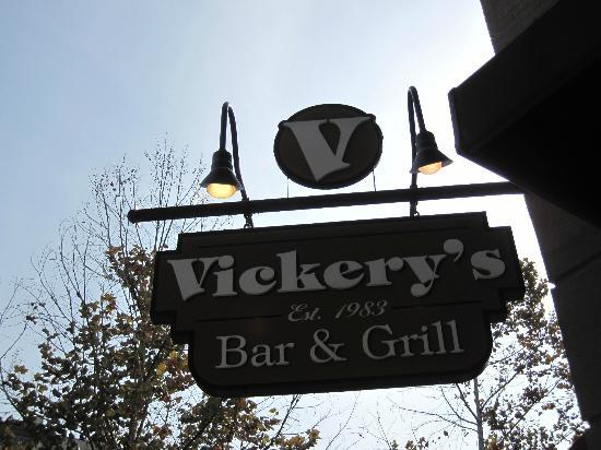Vickery's Bar & Grill - Glenwood Park: Sign