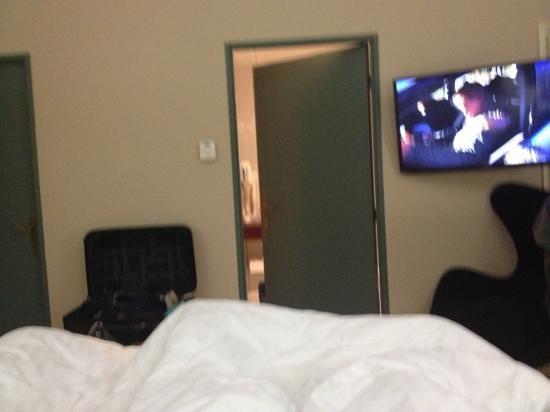 Hotel Villa Navarre : photo depuis le lit