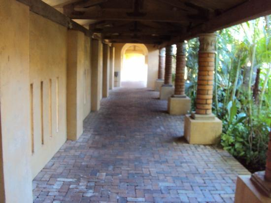 Royal Palms Resort and Spa: The walkway to cocktails!
