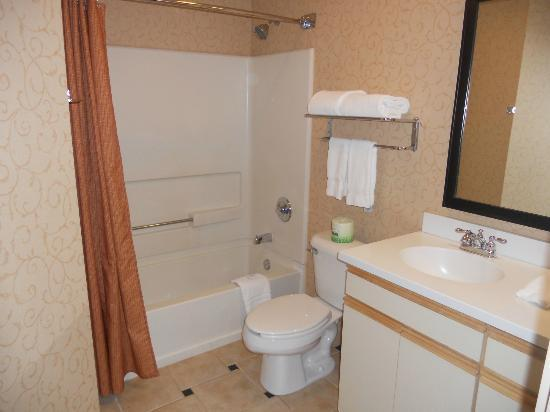 Larkspur Landing Bellevue: Studio Room- Bathroom