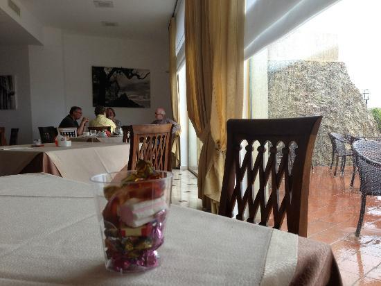 Borgo San Rocco Resort : Het restaurant