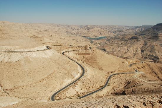 Irbid, Jordania: The Hairpins at Wadi Mujib