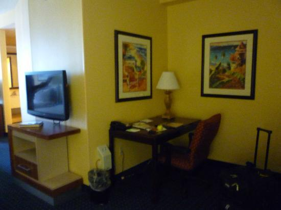 SpringHill Suites Charleston Downtown/Riverview: 2 Flat screen TVs
