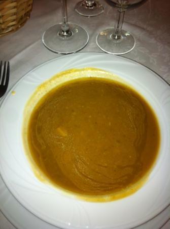 Ristorante Anna: zuppa di castagne e porcini