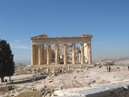 Parthenon: Yee haaaargh I'm really here!!