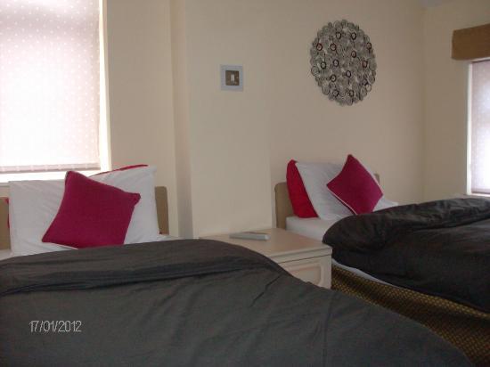 Aparthotel Blackpool: Twin Bedroom