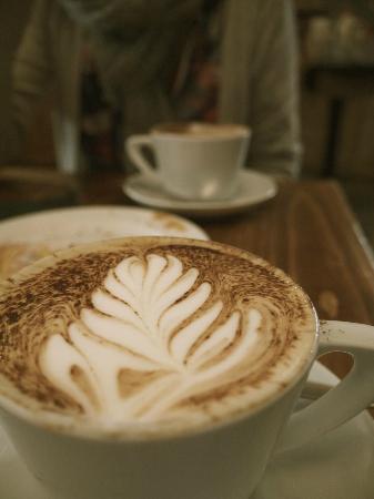 Cafe Coho - Ship Street: Cafe Coho cappuccino art