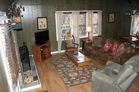 Dillard House: Living Room Area
